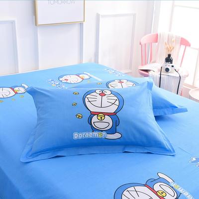 2019新款全棉大版单品枕套/个 48cmX74cm 神奇叮当猫