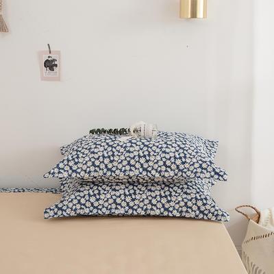 2020新款13070喷气花卉系列单品枕套 48cmX74cm/个 初恋