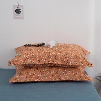 2020新款13070喷气花卉系列单品枕套 48cmX74cm/个 纯粹