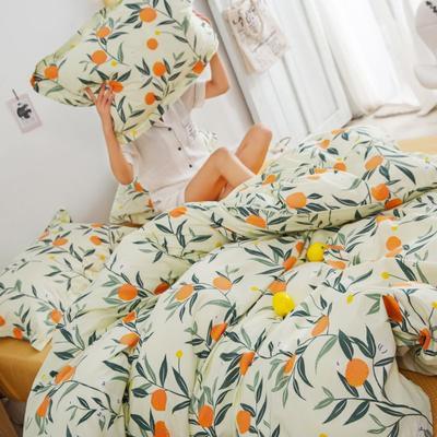 2020新款13070喷气花卉系列单品枕套 48cmX74cm/个 芒种