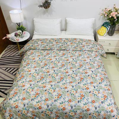 2020新款13070噴氣花卉系列(實拍圖) 1.2m床單款三件套 花繡-灰
