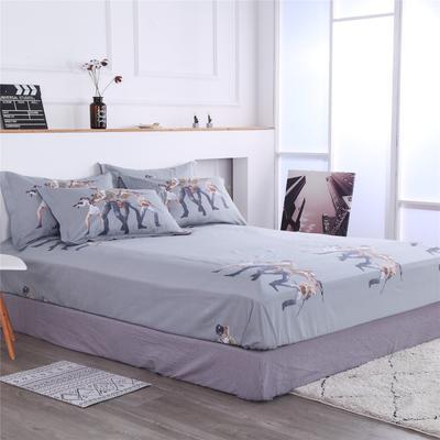 2020新款大版卡通新品单独床笠 150cmx200cm 兄弟联盟