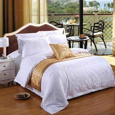 2017酒店宾馆配套系列床尾巾 抱枕 50x260cm 2