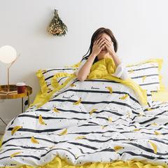 2019新款水洗棉夏被 枕套/只10元 香蕉