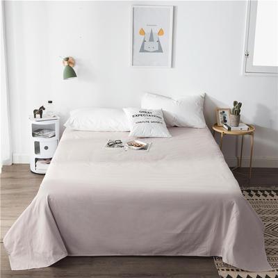单品全棉床单 180cmx230cm 浅灰