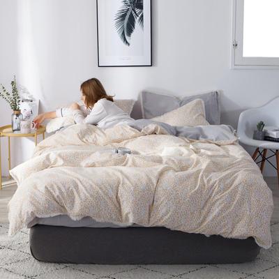 2019新款-全棉流苏款四件套 三件套1.2m(4英尺)床 浅忆