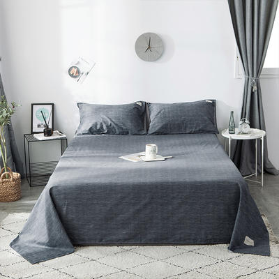 2019全棉织标款系列-床单 180cmx230cm 爱琴海