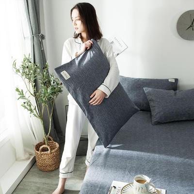 全棉织标款系列-枕套 48cmX74cm/(一对) 爱琴海单枕套