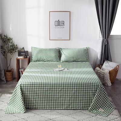2019全棉织标款系列-床单 180cmx230cm 绿地