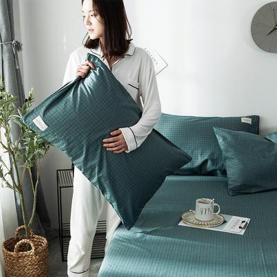 全棉织标款系列-枕套 48cmX74cm/(一对) 贝宁单枕套