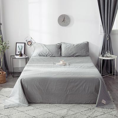 全棉织标款系列-床单 230cmx250cm 慢生活