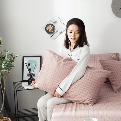 全棉织标款系列-枕套 48cmX74cm/(一对) 贝塔单枕套