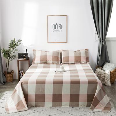 2019全棉织标款系列-床单 180cmx230cm 诺曼底