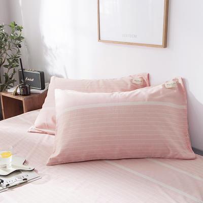 全棉织标款系列-枕套 48cmX74cm/(一对) 谷米单枕套