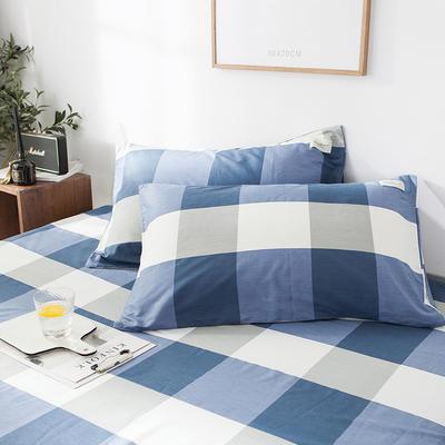 全棉织标款系列-枕套 48cmX74cm/(一对) 吉布提单枕套