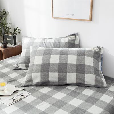 全棉织标款系列-枕套 48cmX74cm/(一对) 拉布拉多单枕套