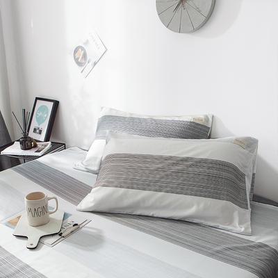 全棉织标款系列-枕套 48cmX74cm/(一对) 马拉维单枕套