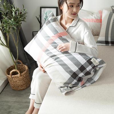 全棉织标款系列-枕套 48cmX74cm/(一对) 墨尔本单枕套