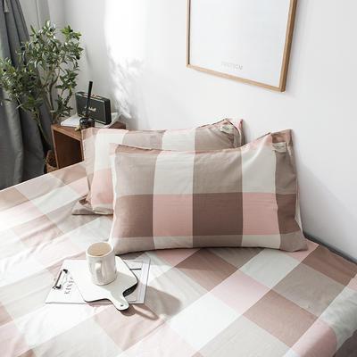 全棉织标款系列-枕套 48cmX74cm/(一对) 诺曼底单枕套