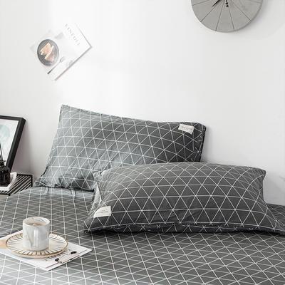 全棉织标款系列-枕套 48cmX74cm/(一对) 索马里单枕套