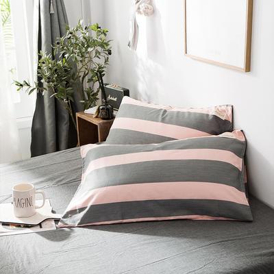 全棉织标款系列-枕套 48cmX74cm/(一对) 雅加达单枕套