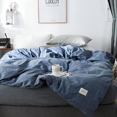 全棉织标款系列-被套 160x210cm 锦蓝单被套