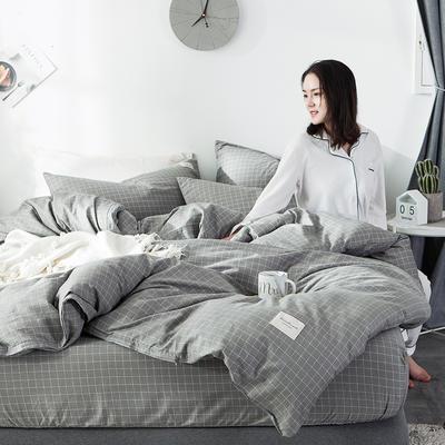 全棉织标款系列-四件套 1.2m床单款三件套 贝甲