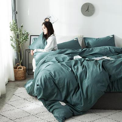 全棉织标款系列-四件套 1.2m床单款三件套 贝宁