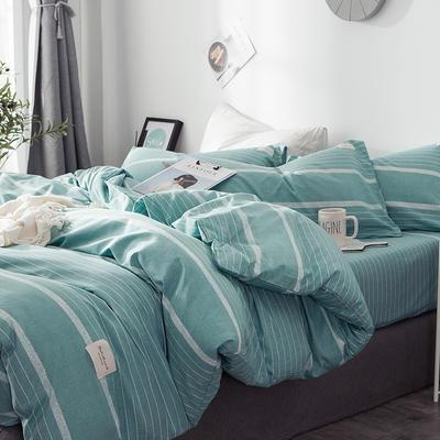 全棉织标款系列-四件套 1.2m床单款三件套 布谷
