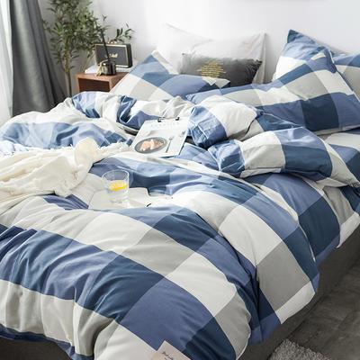 全棉织标款系列-四件套 1.2m床单款三件套 吉布提