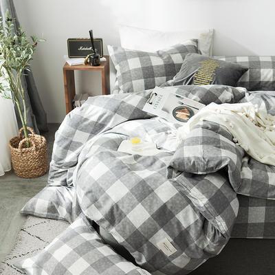 全棉织标款系列-四件套 1.2m床单款三件套 拉布拉多