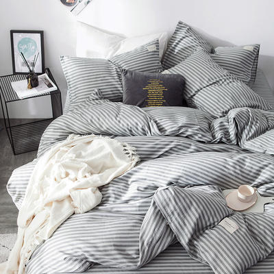 全棉织标款系列-四件套 1.2m床单款三件套 慢生活