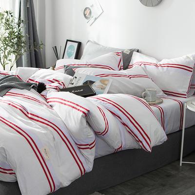 2019全棉织标款系列-四件套 1.2m床单款三件套 米兰达