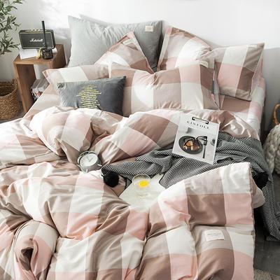 全棉织标款系列-四件套 1.2m床单款三件套 诺曼底