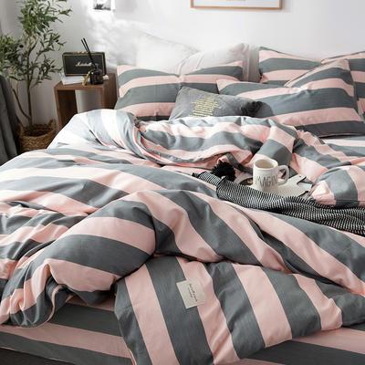 全棉织标款系列-四件套 1.2m床单款三件套 雅加达