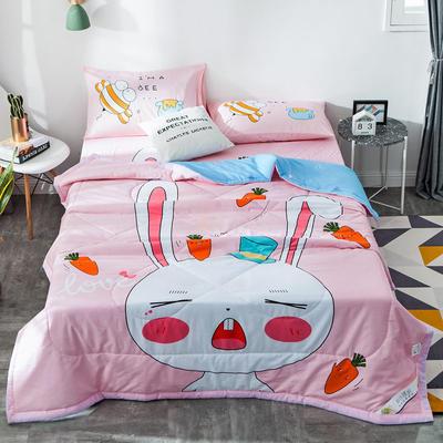 全棉大版夏被 150x200cm 兔宝宝