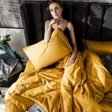 2019新款-轻奢丝绸棉系列四件套
