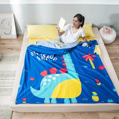 全棉平网大版-睡袋 120*230恐龙乐园