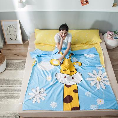 全棉平网大版-睡袋 120*230萌鹿