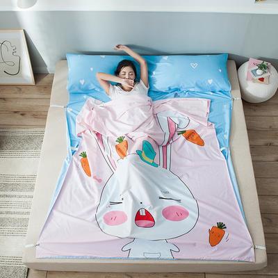 全棉平网大版-睡袋 160*230兔宝宝
