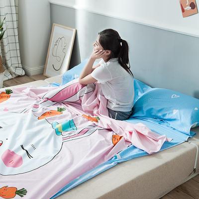 2019新款-全棉平網大版-睡袋 180*230兔寶寶