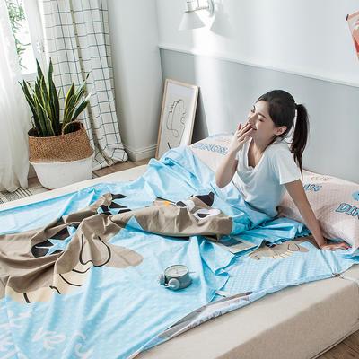 2019新款-全棉平網大版-睡袋 200*230大話侏羅紀