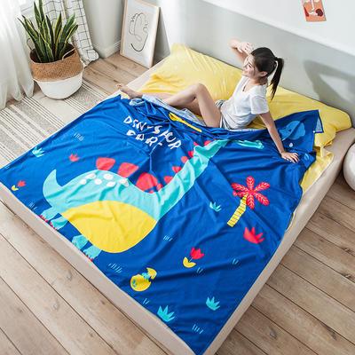 全棉平网大版-睡袋 200*230恐龙乐园
