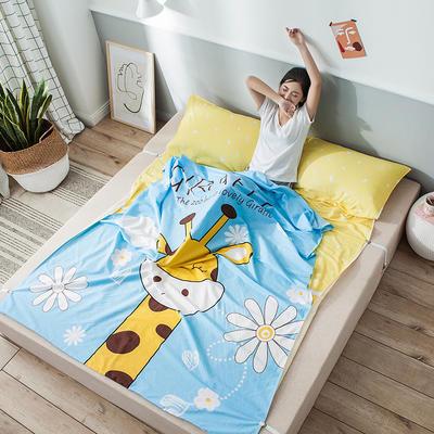 全棉平网大版-睡袋 200*230萌鹿