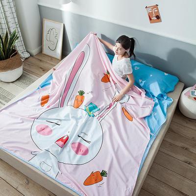 全棉平网大版-睡袋 200*230兔宝宝