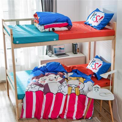 2019新款-全棉平網大版三件套系列 床單款0.9m-1.0m床 童真