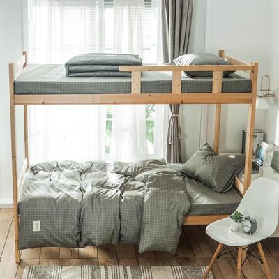2019新款-全棉三件套织标系列 床单款三件套1.2m(4英尺)床 贝甲