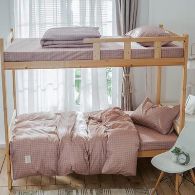 学生三件套-全棉简约织标款 床单款三件套0.9m床-1.0m床 贝塔