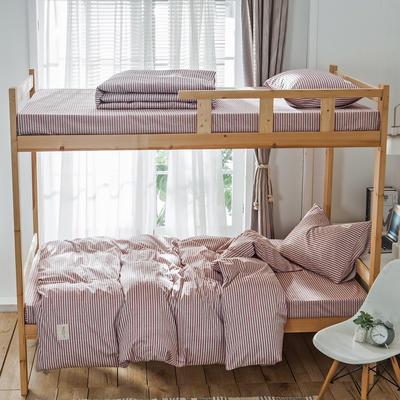 学生三件套-全棉简约织标款 床单款四件套1.35m(4.5英尺)床 梦幻