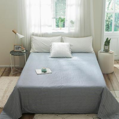 单品全棉床单 180cmx230cm 细条子